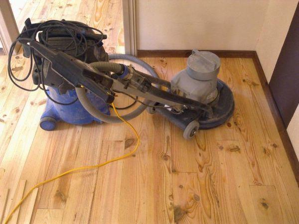 Frans Grenen Vloer : Frans grenen vloer compleet gelegd voor m boxtel